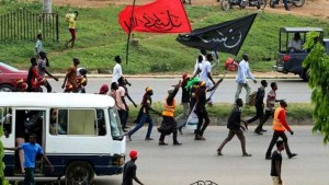Shiites Adherents during a protest