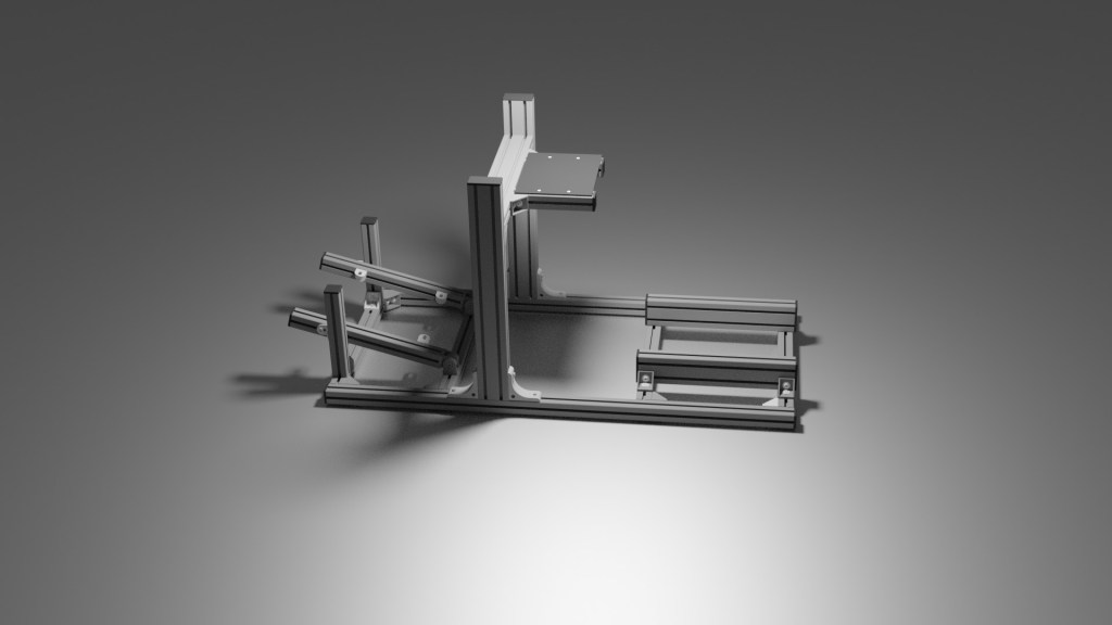 Cockpit de aluminio