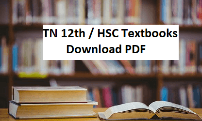 Tamil Nadu 12th New Syllabus 2019 – 2020 Download HSC