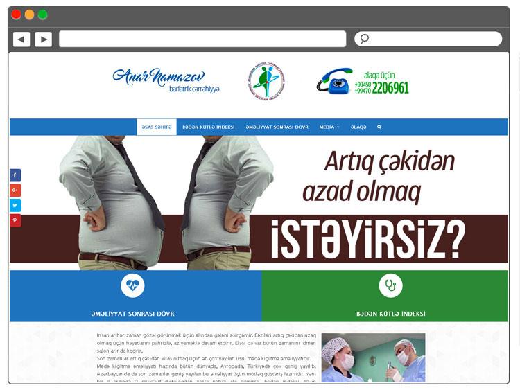 Azərbaycan Bariatrik Cərrahlar Cəmiyyətinin Veb-saytı