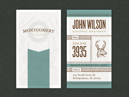John Wilson's Business Card