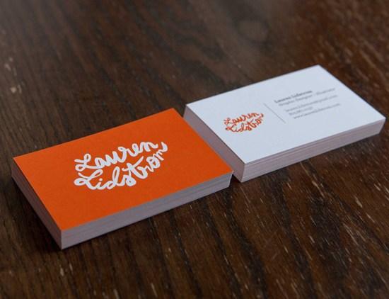Lauren Lidstrom's Business Card