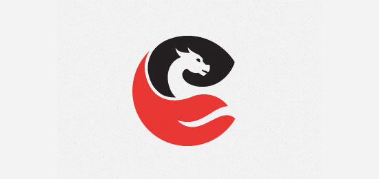 Dragon symbol by Grigory