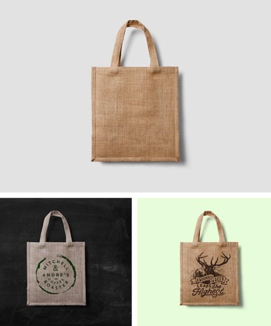 Eco Bag MockUp por forgraphic
