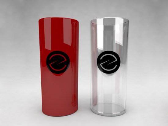 Maquetas de copa de cristal de Eduardo Barboza