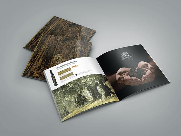 Ejemplos de marketing de impresión: Gold Istra