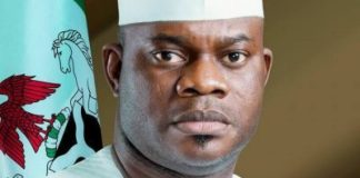 Buhari felicitate with Kogi Gov. Yahaya Bello at 45