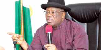 Breaking: Ebonyi Gov. Umahi finally dumps PDP for APC