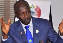 Fraud allegations: PDP charges FG to arraign suspended Ag EFCC Chair, Magu now,