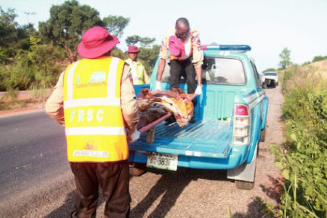 FRSC confirms 4 deaths, 6 injures in 3 accidents in Ogun State