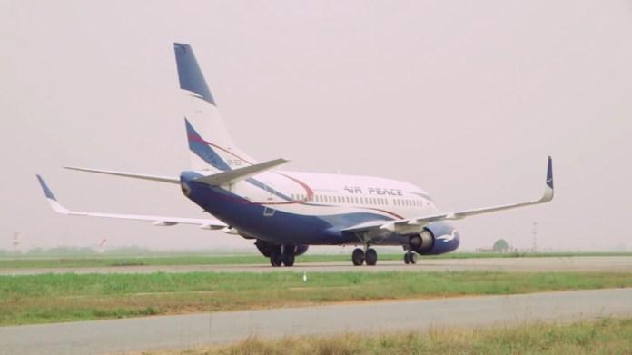 Air Peace operates maiden flight to London, evacuates 327 Nigerians