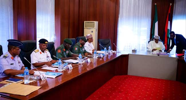 High expectations as Buhari summons Service Chiefs to the Villa