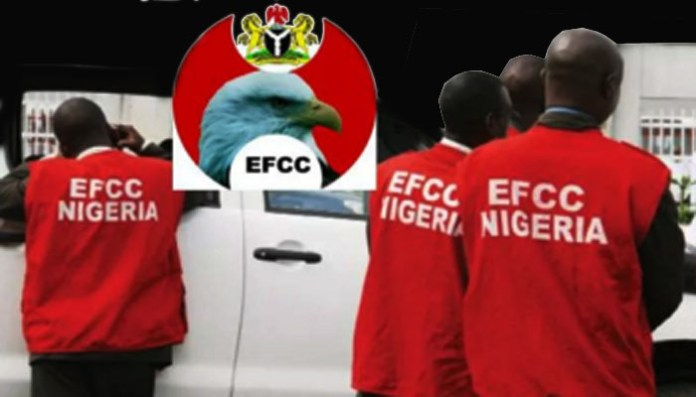 """Breaking : EFCC chairman, Bawa testifies in N1.4bn oil subsidy fraud trial By Henry Ojelu Chairman of the Economic and Financial Crimes Commission, EFCC, Abdulrasheed Bawa today appeared before an Ikeja High Court to give evidence in a N1.4 billion fraud trial involving an oil company, Nadabo Energy. Bawa before his confirmation as EFCC chairman had earlier appeared before the court last year as prosecution witness. The EFCC had accused Abubakar Ali Peters and his company, Nadabo Energy of allegedly using forged documents to obtain N1,464,961,978.24 from the Federal Government as oil subsidy after allegedly inflating the quantity of premium motor spirit, PMS purportedly supplied to 14,000M. The defendants had pleaded not guilty to the prosecution's fraud charge. Bawa in his previous testimony had told the court that based on investigation carried out on the defendant's dealings with Staco Insurance Company, """"the Certificate of marine insurance used by the defendant for the transaction in question was forged."""" The matter was adjourned by Justice Balogun to February 10, 16, 23 and March 9, 2021 for continuation of trial. Bawa is currently giving more evidence in the trial as at the time of filing this report."""