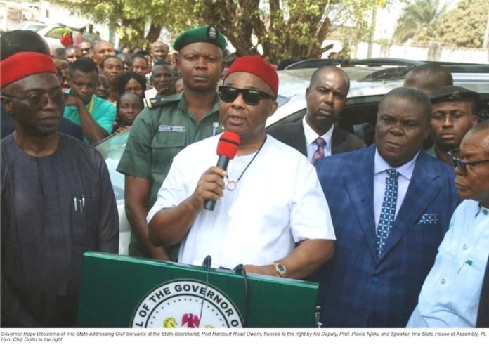 Uzodinma reiterates resolve to reposition Imo Civil Service for optimal productivity