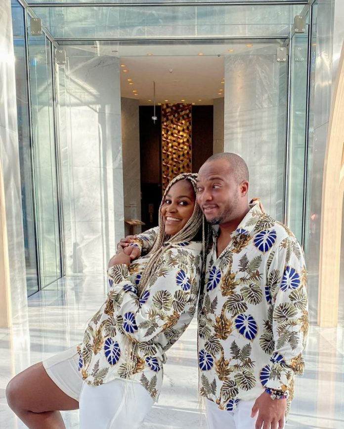 Chizzy Alichi flaunts baby bump 3 weeks after wedding, shares photos from her honeymoon