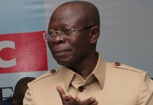 Just In: Adams Oshiomhole bows out, thanks Buhari for his support