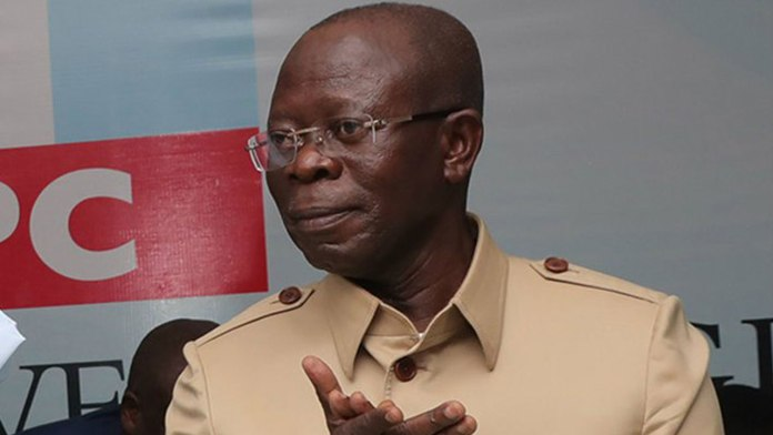 Just In: APC Crisis: Adams Oshiomhole bows out, thanks Buhari for his support