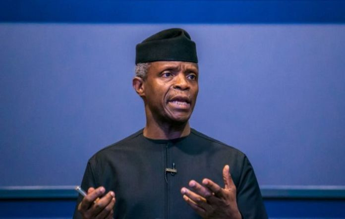 Image result for [News] APC created to fight poverty for the vulnerable -- Osinbajo