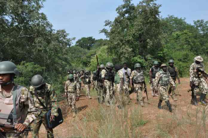 Troops raid bandits' hideout in Benue, kill one, recover arms