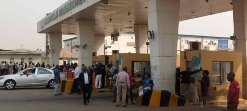 Image result for Military, Police take over Lagos Airport access gate plaza