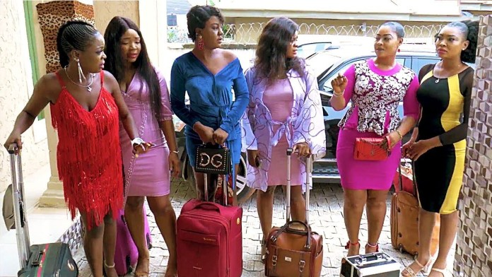 Image result for Six Beautiful Virgin Maidens Chosen For The Prince To Marry- 2020 African Movie 2019 Nigerian Movies
