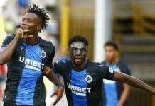 Okereke in Club Brugge's