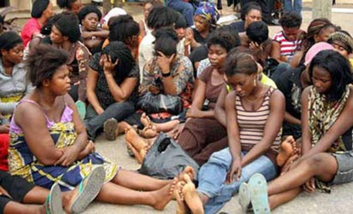 30,000 Nigerian women trafficked to African countries as sex slaves - Reps