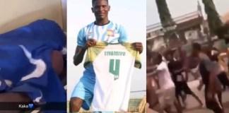 Remo Stars Football Club player, Tiamiyu Kazeem.