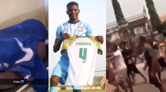 Remo Stars Football Club player, Tiamiyu Kazeem.