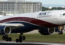 Covid-19 : Arik Air staff take 80% pay cut