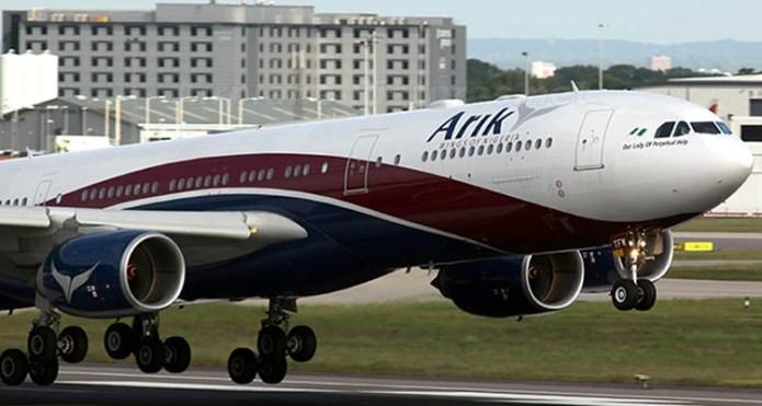 Arik Air resumes limited flight operations today