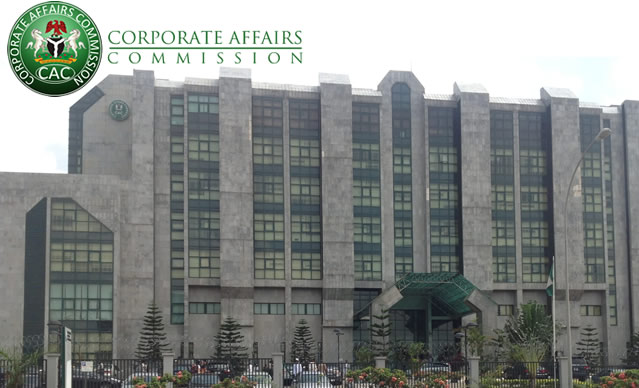 Breaking: Corporate Affairs Commission headquarters on fire
