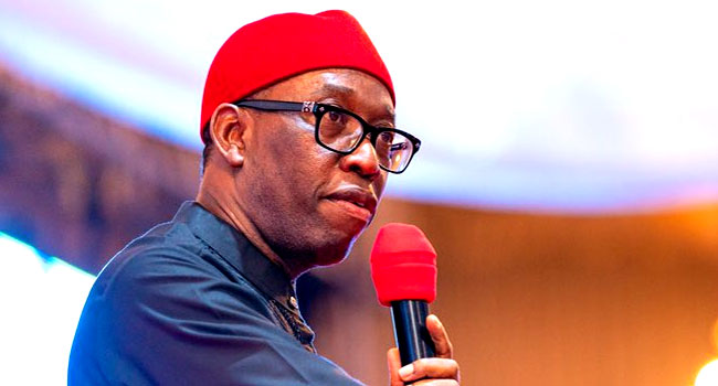 Just In: Governor Okowa, wife tests positive to COVID-19