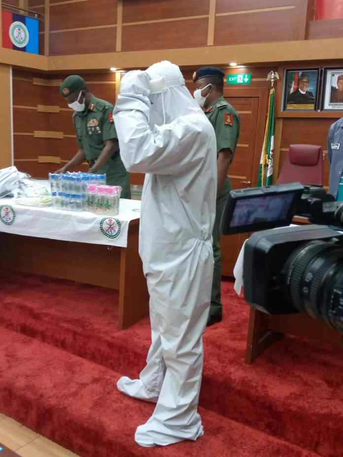 Nigeria working on local production of PPE, says minister