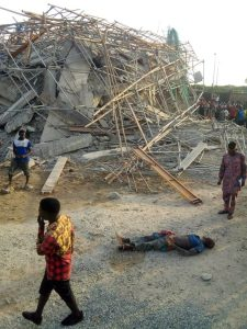 One dead, others trapped, as 8 storey building collapses in Imo State