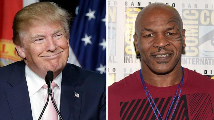 Donald Trump supports Mike Tyson's returns to boxing