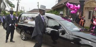 Photo Story: Tears as Late Ibidunni Ituah-ighodalo goes home