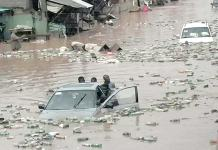 Just In: Flood sweeps away another teenager in Lagos