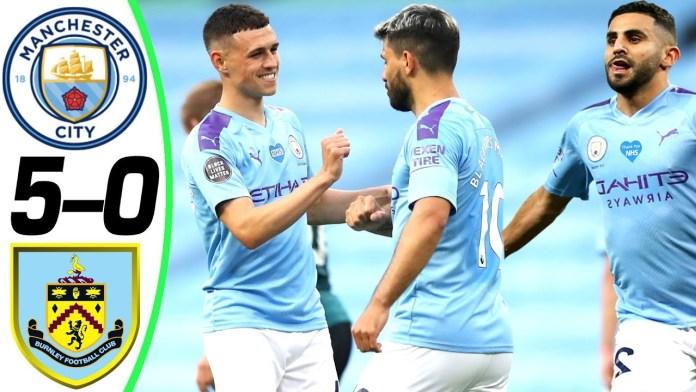 Foden, Mahrez doubles help Manchester City crush Burnley 5-0