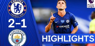 Chelsea 2-1 Manchester City | Pulisic & Willian Seal Dramatic ...