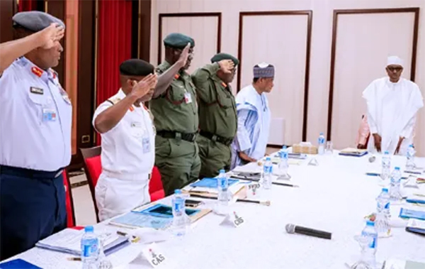 President Buhari to meet security chiefs on Thursday