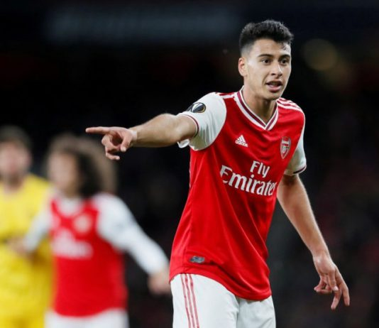 Arsenal forward Martinelli signs new long-term deal