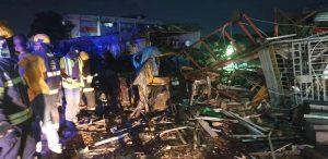 2 dead, 9 shops destroyed, as gas explosion rocks Lagos – LASEMA, NEMA