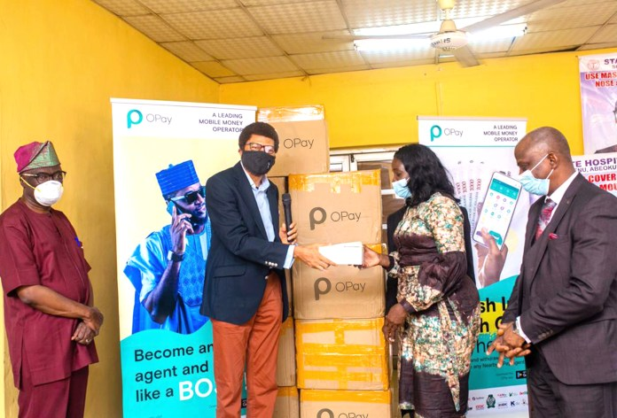 COVID-19: Opay commits N50m, 300,000 face mask to supports frontline medics