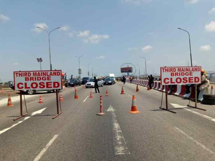 Lagos Govt to shutdown Third Mainland bridge from Friday midnight