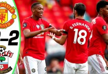 Manchester United vs Southampton 2-2 - All Goals & Highlights ...