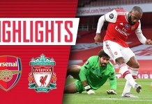 HIGHLIGHTS | Arsenal 2-1 Liverpool | Premier League | Lacazette ...