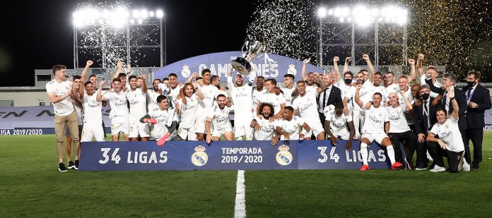 Real Madrid seals 34th Spanish title with win over Villarreal