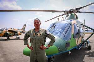 Nigeria's first female combat helicopter pilot, Arotile dies in road accident