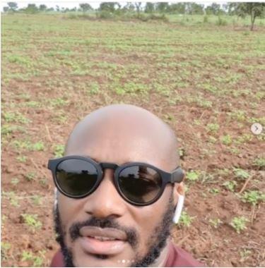 2Baba showcases 'Innobia Farms' in Benue State